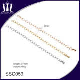 Popular 316L Stainless Steel Metal O Shape Link Necklace