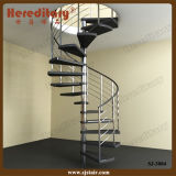 Steel and PVC Spial Staircase for Interior Decoration (SJ-3004)