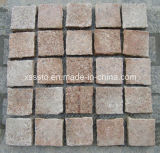 Chinese Granite Cube Stones/Cobble Stones/Natural Paving Stones with Net