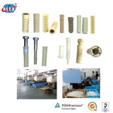 Railway Plastic Screw Dowel/Plastic Insert/Screw Sleeve/for Concrete Sleeper