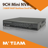 CCTV IP 9CH NVR Network Recorder with P2p 720p/960p/ 1080P Security Recorder Low Price