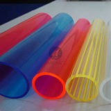 Colorful Acrylic Pipes/Colored PMMA Tubes