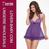 Ruffle Baby Doll Sexy Lingerie Set (L27879-5)