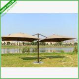 Windeproof Couple Starbucks Tilt Mechanism for Garden Patio Umbrella