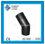 Single Wall Stainless Steel Chimney Pipe with Paint-30 Degree Elbow