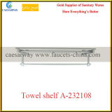 Sanitary Ware Bathroom Brass Fittings Brass Single Towel Shelf