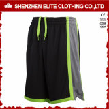 USA Team Men Sports Basketball Shorts Black Polyester