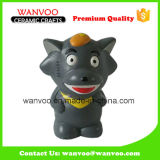 Hand Painting Ceramic Wolffy Promotional Gift for Home Decor