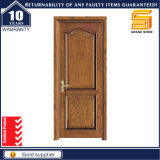 China Supplier Interior Solid Wooden Bedroom Door with Glass Decorated