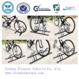 Black Powder Coated Bike Parking Stand Bicycle Rack