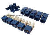 Cat5e RJ45 Punch Down Keystone for Cat5e UTP Cables