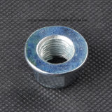 Blue Zinc Plated Insert Flange Lock Nut for Furniture