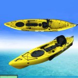 Double Sit on Top 2 Seater Pedal Angling Fishing Kayak