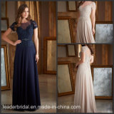 2018 Evening Party Dresses Chiffon Lace Bridesmaid Dress B14625