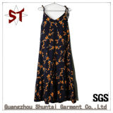 Fashion Young Girl Sweet Flower Pattern Braces Skirt