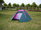 Camping Tent for 3-4 Person with Double-Skin and PU2000mm/Cm2 Waterproof Fabric