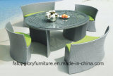 Garden PE Rattan Wicker Dining Table and Chair for Outdoor Furniture (TG-015)