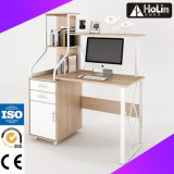 Wooden Computer Desk with Drawer for Home Office Workstation