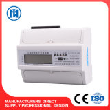 DIN Rail Three Phase Electric Meter Price with RS485/Infrared Carrier