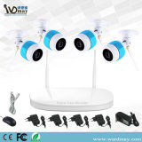 4CH 1080P WiFi NVR CCTV Security System