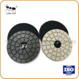 "3""/80mm Wet Diamond Polishing Pad Abrasive Hardware Tools Black White Buff"
