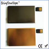 4mm Metal+Plastic Card Shape Power Bank with Attached USB (XH-PB-253)