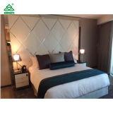 Elegant 5 Star Luxury Hotel Bedroom Furniture Sets with Metal Frame
