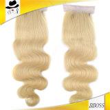 New Blond Color Brazilian Body 4X4 Top Closure