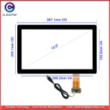 15.6 Inch Widescreen Capacitive Touch Screen for TFT LCD Touch Display (16: 9, G+G, USB, Multi-touch)