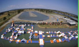 2017 New Inflatable Water Park Floating Island / Inflatabel Aqua Park Equipment for Lake