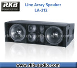 "Dual 12"" Three-Way Passive Line Array Speaker (LA-212)"
