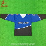 Healong Cut and Sewing Short Sleeve Ice Hockey Jersey Uniforms
