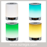 Wireless Bluetooth Stereo Speaker with Intelligent Alarm Clock Colorful Nightlight