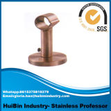 Red Bronze-Coloured New Style Double Curtain Wall Bracket, Window Wall Mount Curtain Rod Bracket