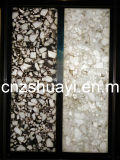 Decoration Resin Panel with The Natural Stone Inside of Interior Decoration Materials