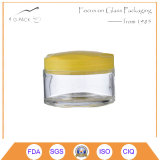 Cylinder Glass Pickles Container with Plastic Cap