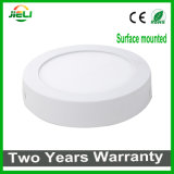 Hot Sale Round Surface Mounted 6W/12W/18W/24W LED Panel Light