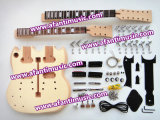 Afanti Music, 12+6, Double Neck Sg Guitar Kit (ASG-204K)