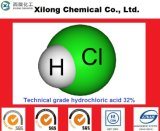 Industrial Grade Hydrochloric Acid 31% 32% 33% 35% 36% for Mining/Water Treatment/Electronic