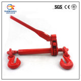 Red Painted Ratchet Load Binder with Folding Handle