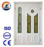 High Quality Mother-Son White Meranti Wooden Door