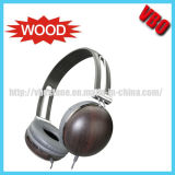Natural Wood Headphones, Wooden Earphones, Earphone & Headphone