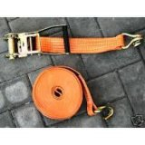 Heavy Duty Ratchet Tie Down Straps with Double J Hook