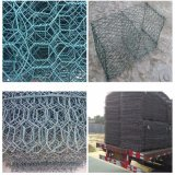 8G/M2 to 300G/M2 Galvanzied or PVC Coated Gabion Wire Mesh