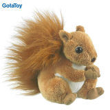 Customized Quality Plush Squirrel Stuffed Soft Animal Toys