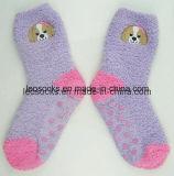 Women′s Fuzzy Microfiber Socks, Soft Texture