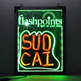 Erasable Neon LED Message Menu Sign Writing Board