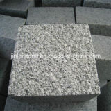Flamed/Honed/Tumbled/Natural G603 Grey Granite Cubestone/Cobblestone/Cube Stone for Driveway