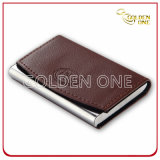 Factory Supply Fine Quality PU Leather Card Case