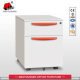 Office Furniture 2 Drawer Mobile Pedestal Storage Cabinet